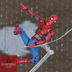 mô hình spider man mafex homecoming bootleg 02
