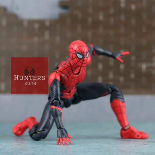 mô hình spider man shf far from home upgraded suit bootleg 01