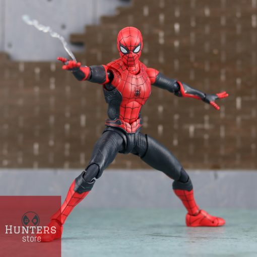 mô hình spider man shf far from home upgraded suit bootleg 06