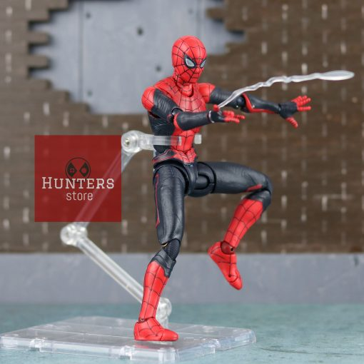 mô hình spider man shf far from home upgraded suit bootleg 10