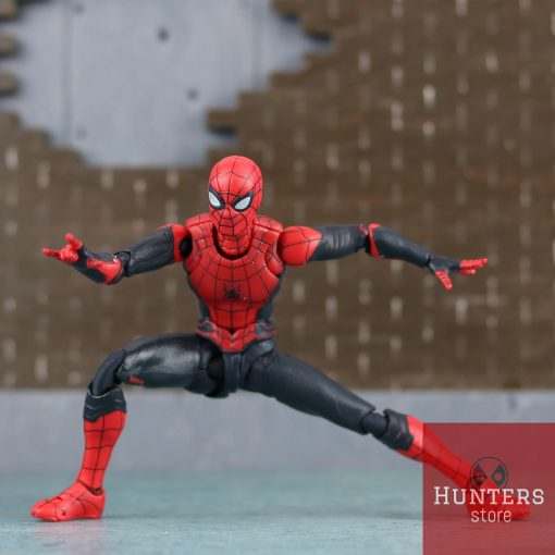 mô hình spider man shf far from home upgraded suit bootleg 11