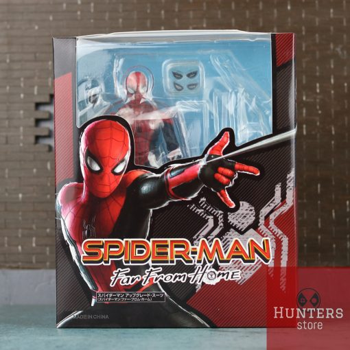 mô hình spider man shf far from home upgraded suit bootleg 12